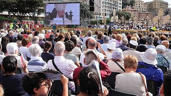 Congresso eucaristico a Genova: 35mila euro raccolti in favore dei terremotati