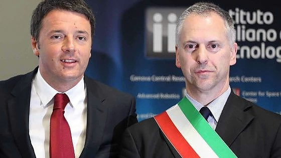 Renzi a Genova per decidere il futuro di Doria