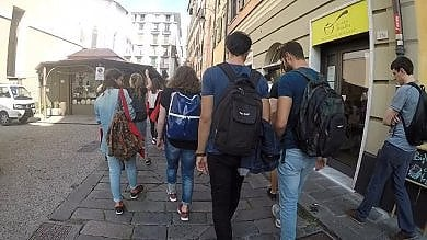 Il popolo Erasmus alla scoperta di Genova
