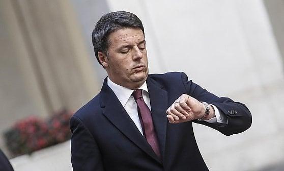 Renzi domani a Genova per il cantiere del Bisagno