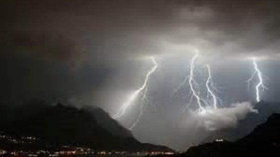 """L'""""ombrello"""" anti nubifragi è già sul golfo Paradiso"""