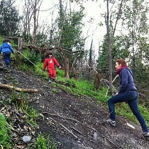Genova Campi, i bimbi all'asilo nel bosco