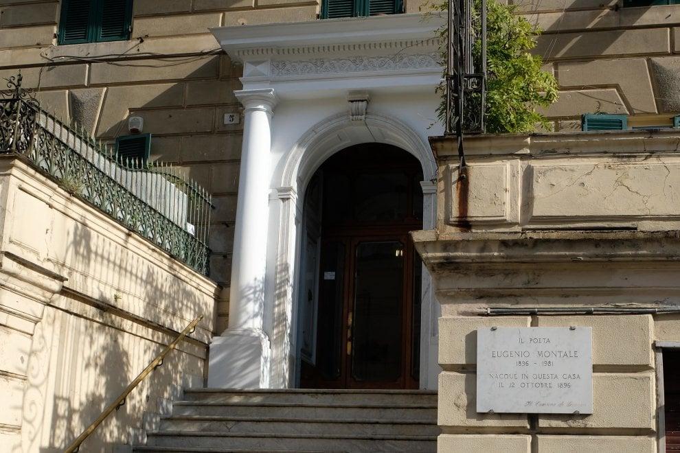 Genova, la casa di Montale e il silenzio sui 120 anni