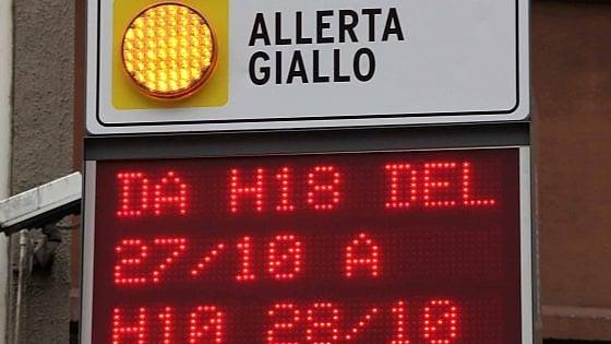 Allerta meteo in Liguria, l'arancione è scontato