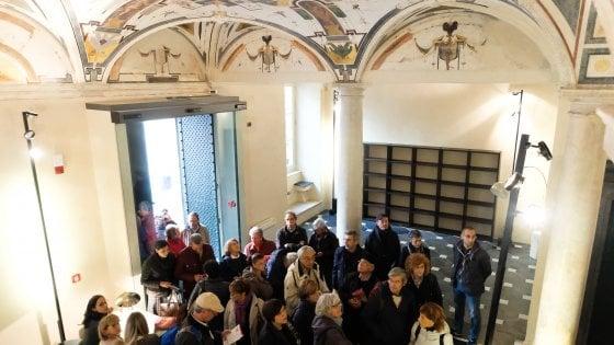 Rolli days a Genova, code davanti a palazzo Rosso e palazzo Grillo