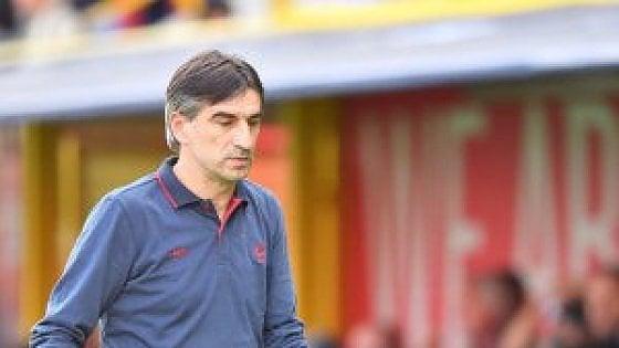 Genoa, Juric senza attacco: ''E l'Empoli è avversario tosto''
