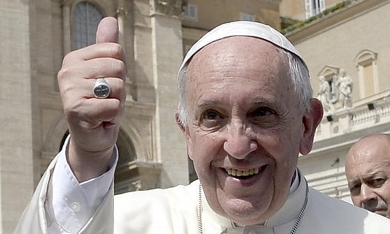 Papa Francesco a Genova il 27 maggio 2017