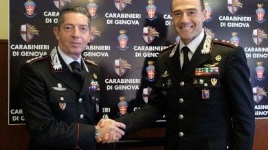 Cambio della guardia per i carabinieri, al comando di Genova il colonnello Sciuto