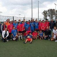 A Sanremo le partite di calcio della pace