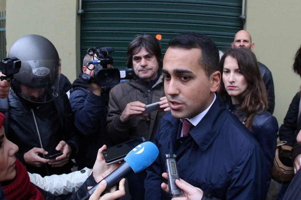 Di Maio a Genova sul Fereggiano e in Regione  parlare di referendum