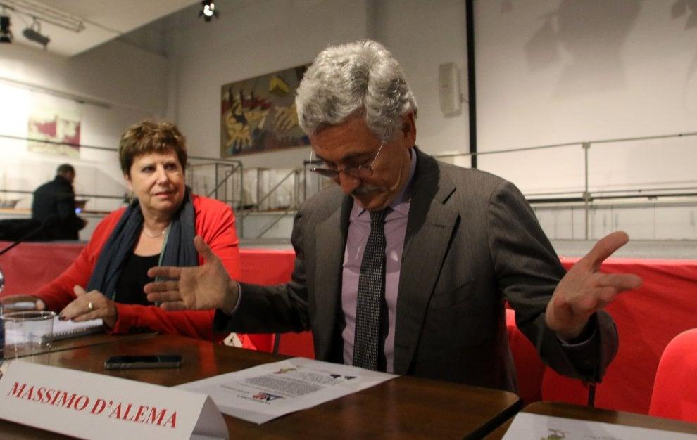 D'Alema a Genova per il referendum