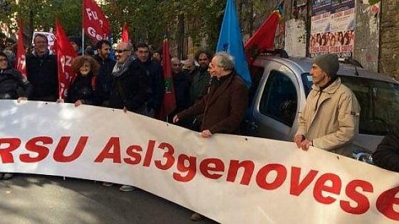 Dipendenze: protesta Sert Genova in Consiglio regionale