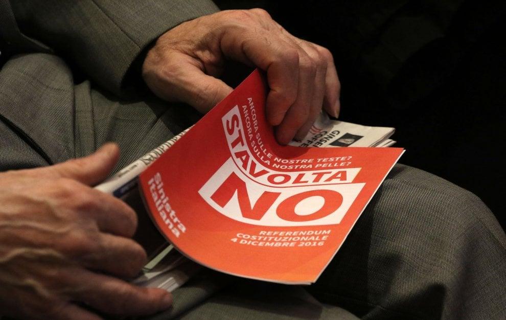 "Cgil, Fiom e Anpi, ""Ecco perchè no al referendum"""