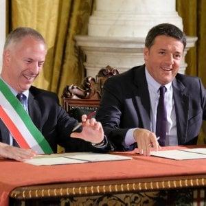 Lo specchietto delle allodole del patto per Genova