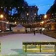 Genova, i lavori in piazza Martinez non fermano la pista di ghiaccio