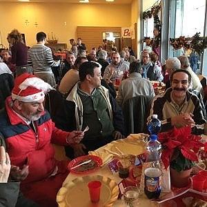 Ottomila a tavola, la grande festa solidale di Sant'Egidio