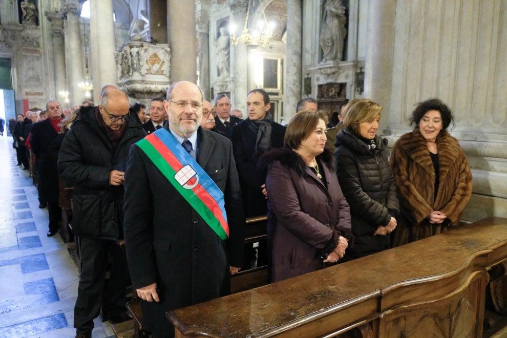 Genova, la festa dei vigili urbani con il cardinale Bagnasco