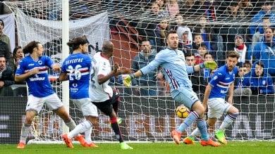 Sampdoria-Cagliari, finisce in pari la gara delle mille occasioni