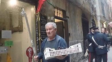 Confisca Canfarotta, sgomberati i bassi