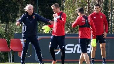 Genoa, il primo allenamento di Mandorlini