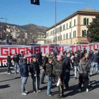 Genoa-Bologna, la contestazione