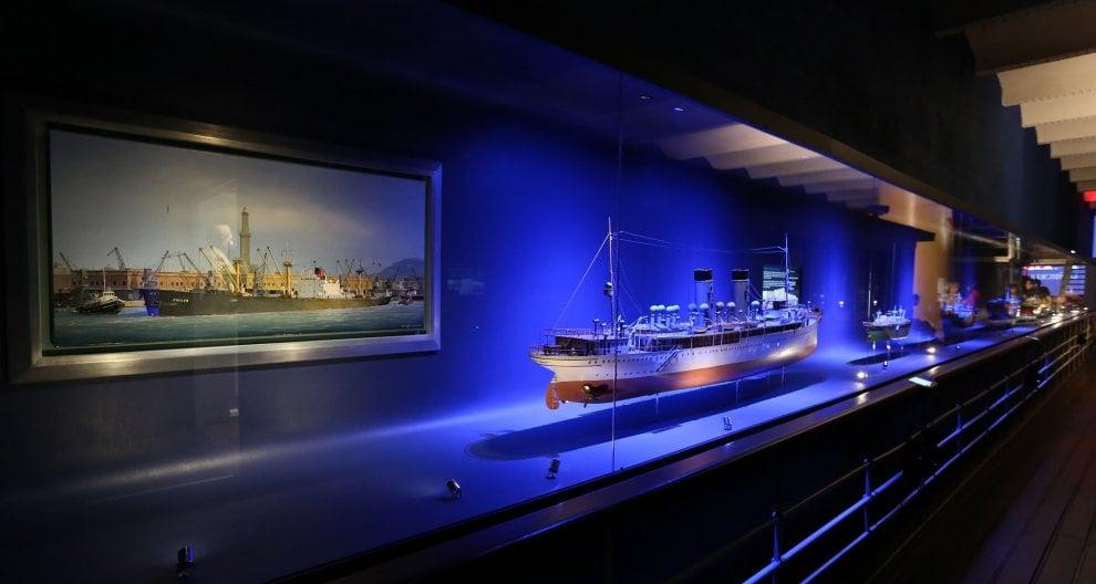 Genova, al museo Galata gli armatori si raccontano tra scagni e vapori