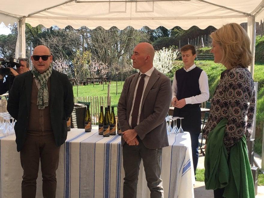 A Portofino presentato il vino della duchessa