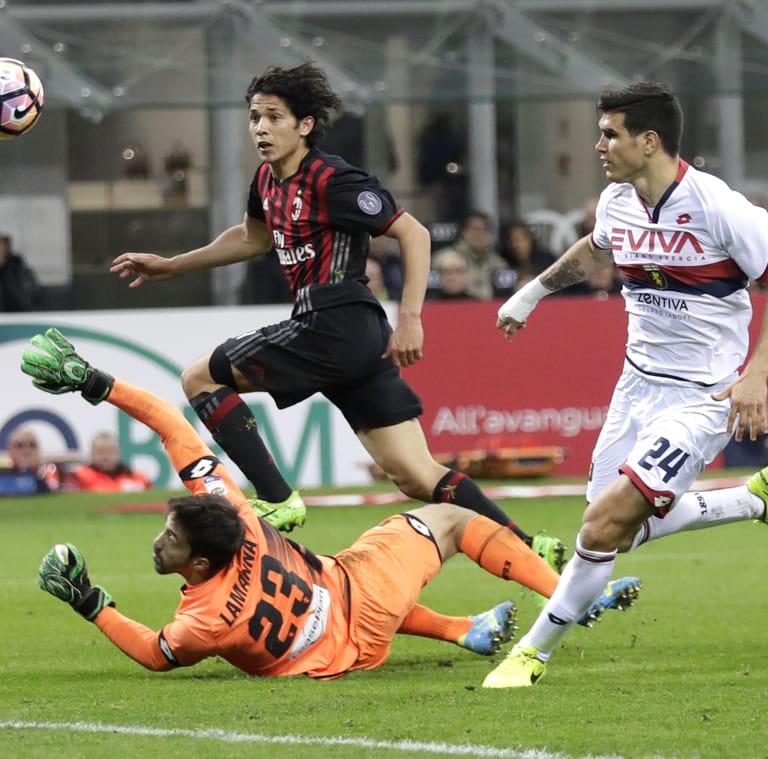 A San Siro il Genoa pensa solo a difendersi, a un piccolo Milan basta un gol di Mati
