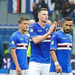 Una bella Samp si inchina alla Juventus