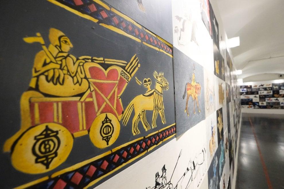 Mille visioni diverse del cavallo, i lavori del Klee-Barabino in mostra al Munizioniere