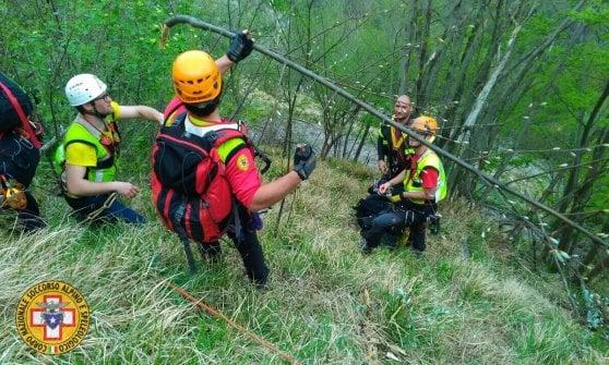 Genova, escursionista muore durante arrampicata con la moglie