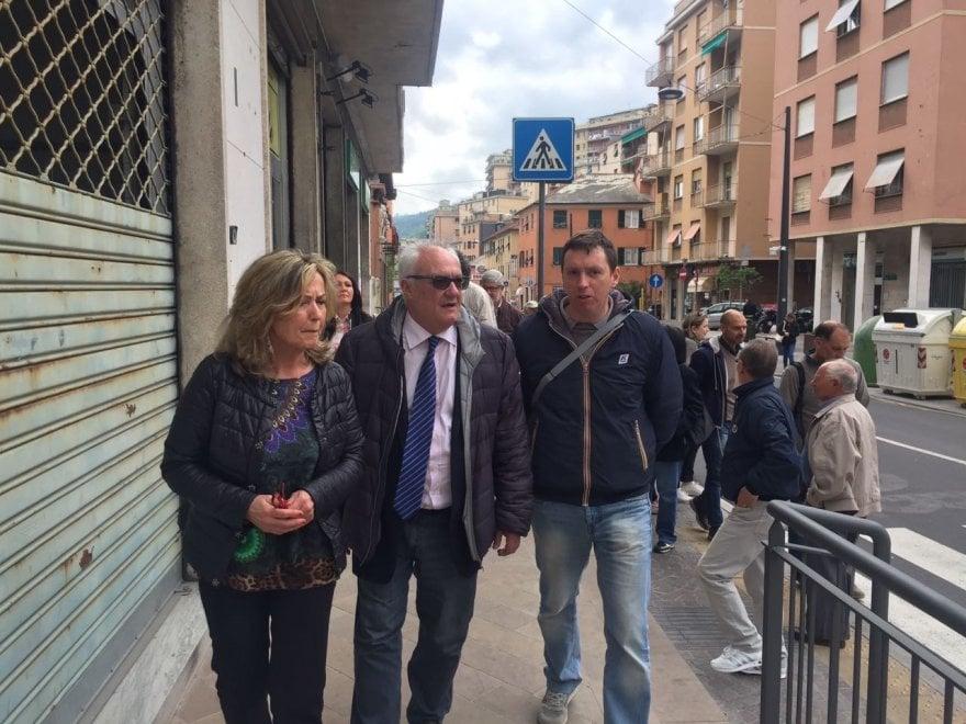 Comunali Genova, Crivello in Valbisagno
