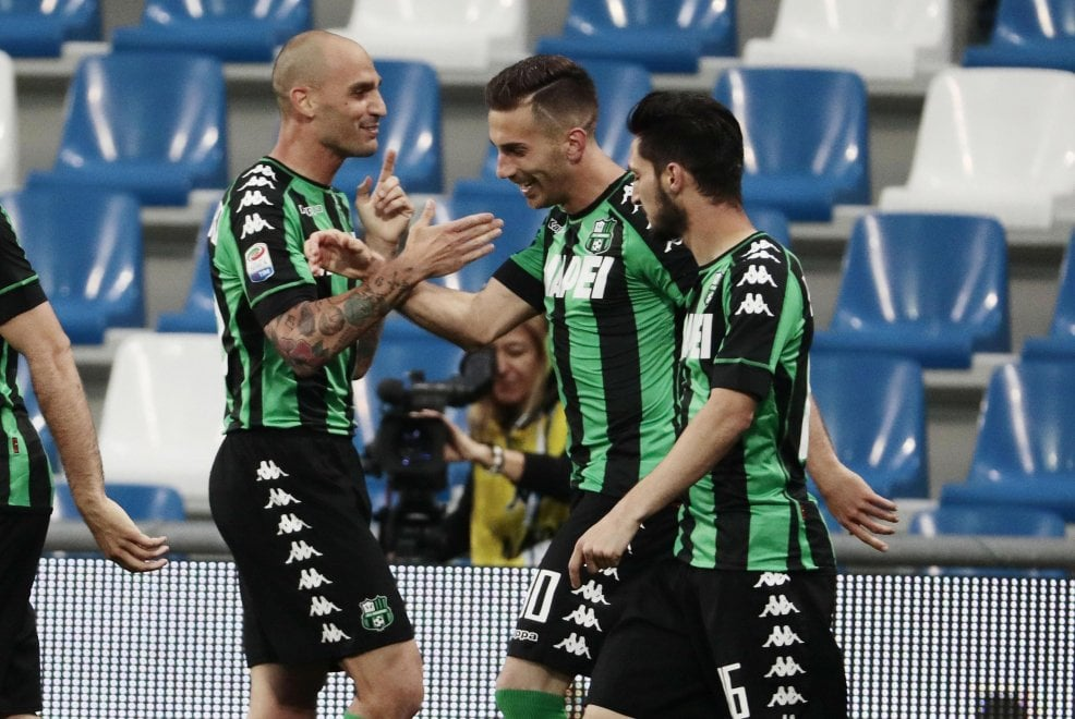 Sassuolo-Sampdoria, il film della partita