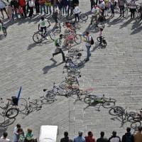 Genova, biciclettata record per la giornata della terra