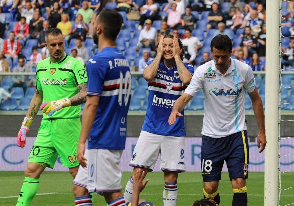 Sampdoria-Chievo, le foto del secondo tempo