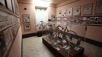 Dentro la casa museo di Fausto Coppi