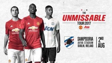 Samp, ad agosto test di lusso con il Manchester United