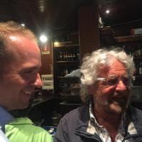 Beppe Grillo alla cena per sostenere Pirondini