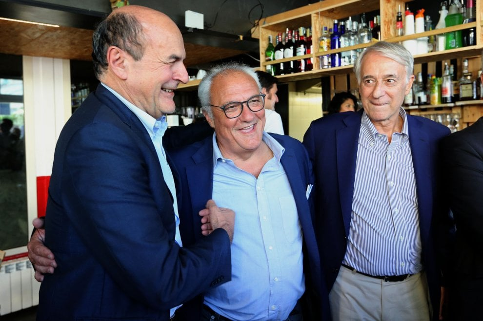 Genova, Bersani e Pisapia per spingere Crivelllo