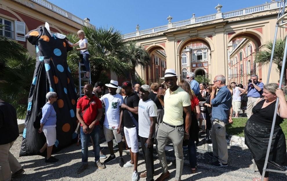 Genova, corteo anti-razzista del Suq