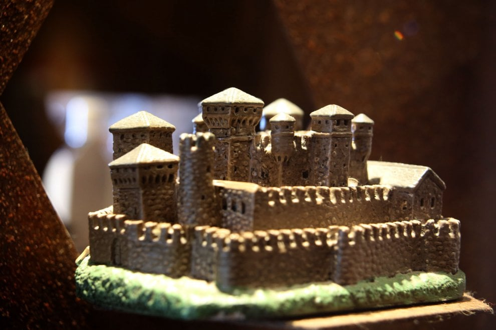 Al Castello D'Albertis case in miniatura