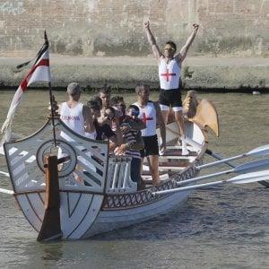 Genova vince la regata delle Antiche Repubbliche Marinare