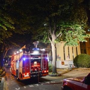 Incendio doloso nel padiglione 2 di San Martino