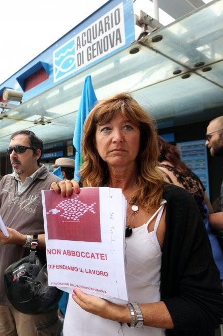Acquario, la protesta dei dipendenti