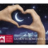 Notte  romantica nei borghi liguri: dalla cena in bianco alla sagra dello stoccafisso