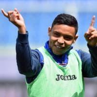 Nuovi assalti per Muriel, derby spagnolo e Lazio, ma la Samp non si piega