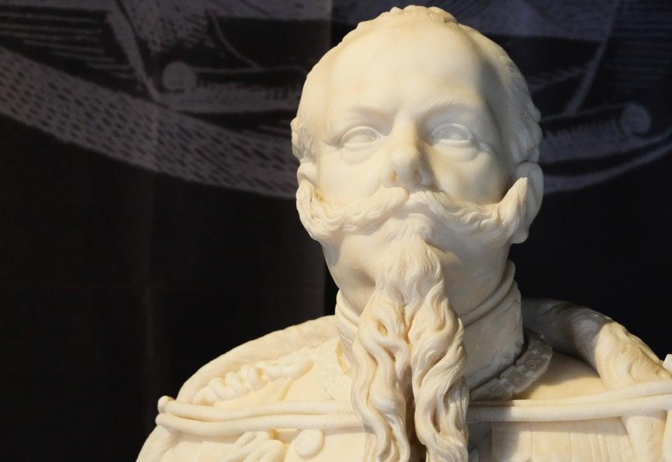Santo Varni, scultore del re