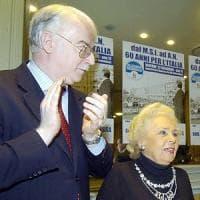 Genova, meeting  in memoria di Giorgio Almirante nelle