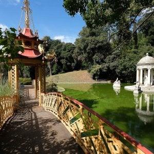 Genova, villa Pallavicini a Pegli è il parco più bello d'Italia
