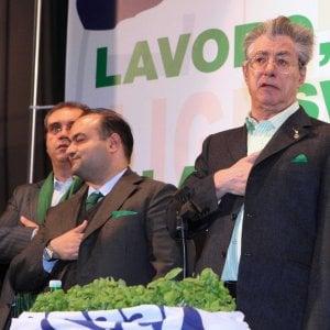 Finanziamenti pubblici ai partiti, condannati per truffa Bossi e Belsito, la Lega deve restituire 48 milioni di euro